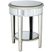 MirroredGuest Room, Sweets, Round End Tables, Mirrors Side Tables, Tables Tables, Accent Tables, Products