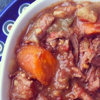 De Tout Coeur Limousin: Beef Mafé (West African groundnut stew)