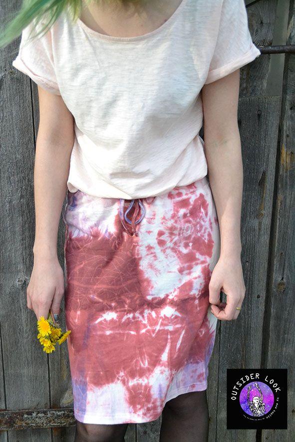 tie-dye,shibori,skirt