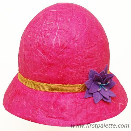 Papier Mache Hat Craft | Kids' Crafts | FirstPalette.com