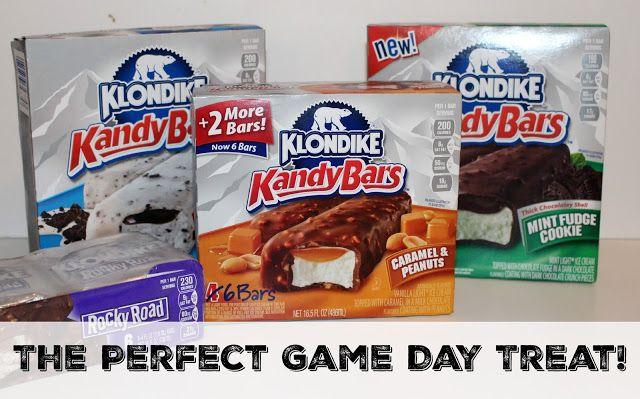 Make Your Favorite Football Fan's Day by Serving Klondike Ice Cream Bars!  #KlondikeVariety #IC #ad #football