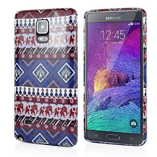 Samsung Galaxy Note 4 Ultra Slim Gel Protective Case - Aztec