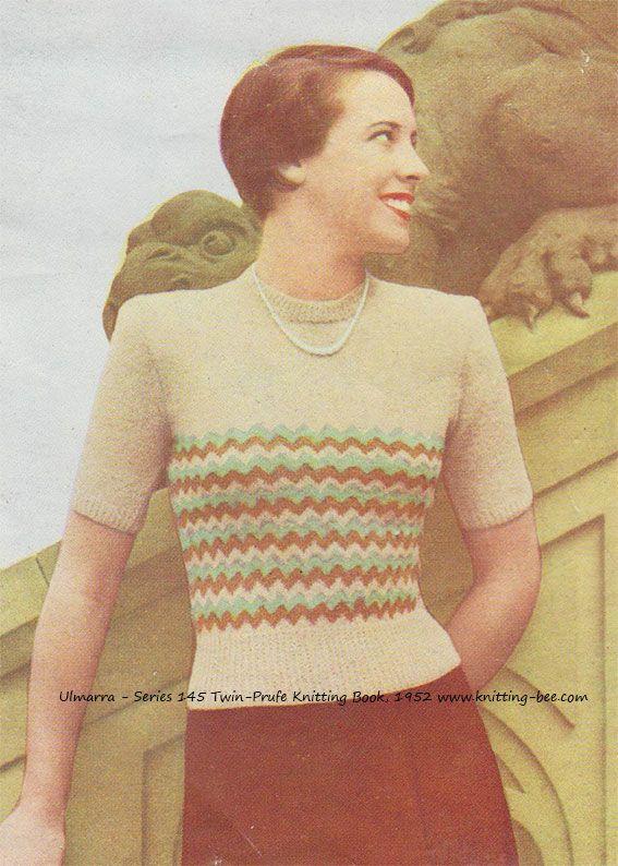 2581 best Free Vintage Knitting Patterns images on Pinterest ...