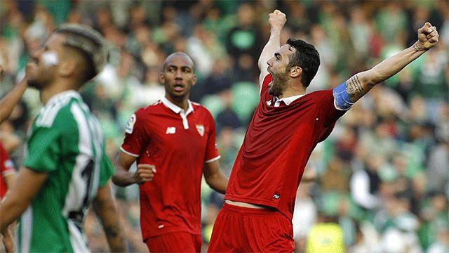 Ver los goles del Betis - Sevilla (1-2) | Vídeo http://www.sport.es/es/noticias/laliga/vea-los-goles-del-betis-sevilla-5860838?utm_source=rss-noticias&utm_medium=feed&utm_campaign=laliga