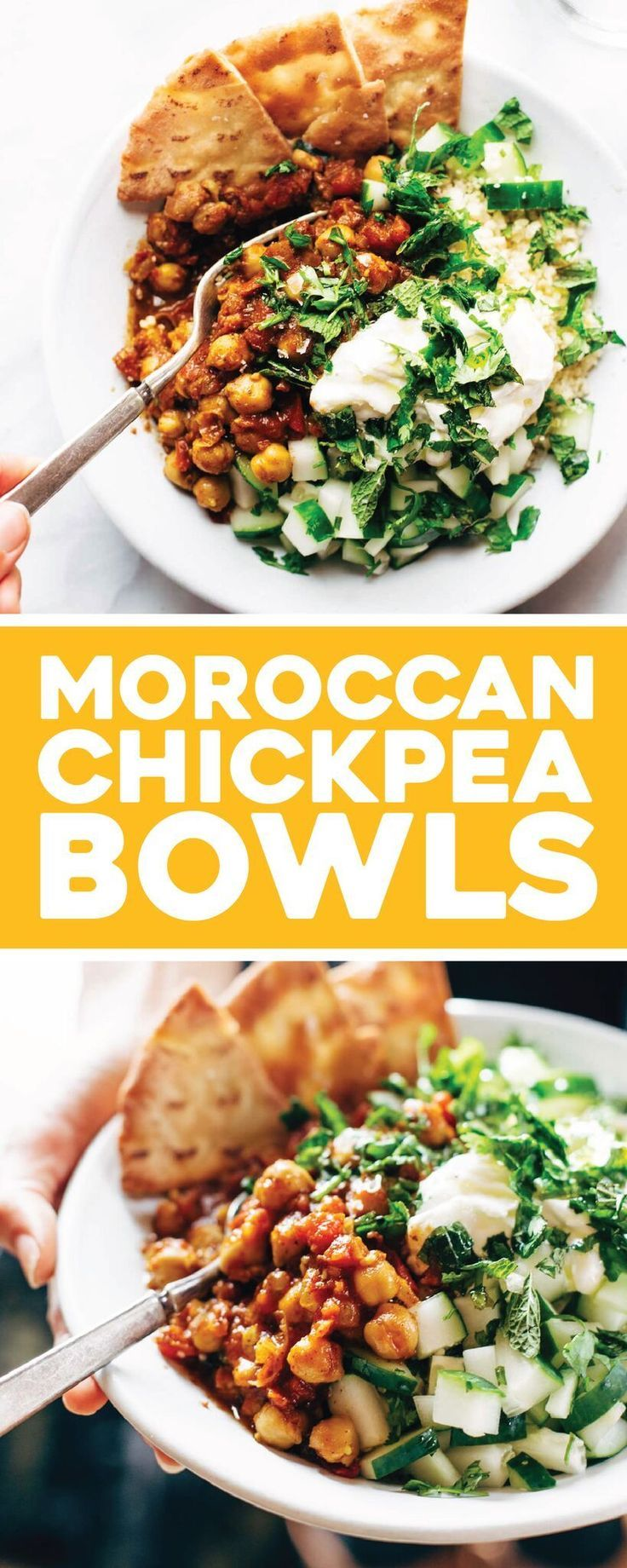 Detox Moroccan Spiced Chickpea Glow Bowl