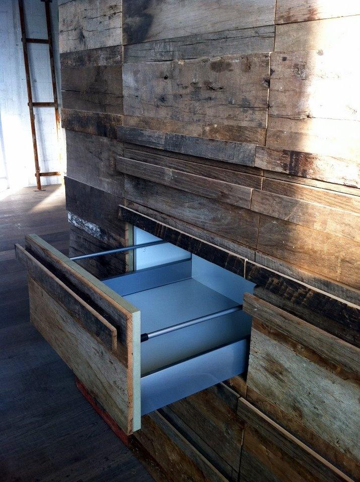 Rough oak kitchen cabinets