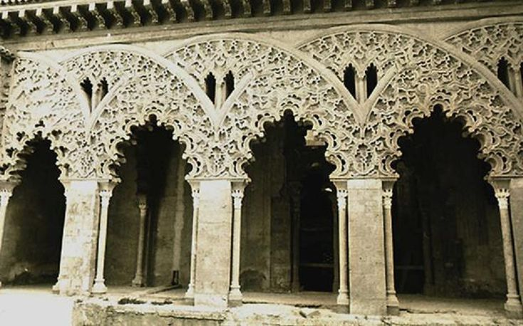 Baroque in aljaferia showing elements that later for Modern baroque art