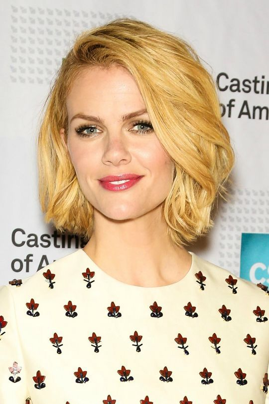 Brooklyn Decker's bob haircut is gorgeous and a great short length if you don't want to go TOO short