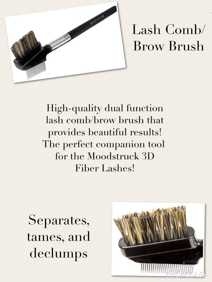 Show those brows who's boss and keep your lashes in line with a Lash Comb/Brow Brush that tames, separates, and keeps clumps at bay.