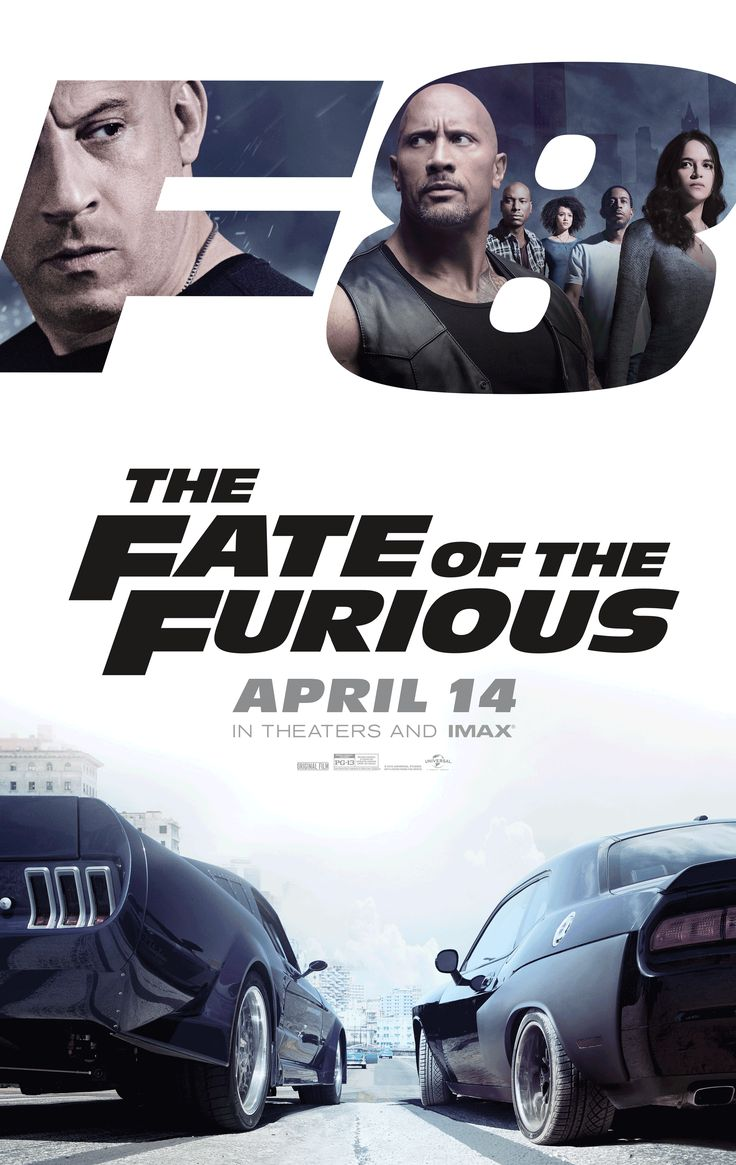 The Fate of the Furious  The destiny of the furious (alternatively called rapid & furious eight and speedy 8, and often stylized as F8) is a 2017 American motion movie directed through F. Gary grey and written by using Chris Morgan. it's miles the 8th installment within the speedy and the furious franchise and stars Vin Diesel, Dwayne Johnson, Jason Statham, Michelle Rodriguez, Tyrese Gibson, Chris Bridges, Nathalie Emmanuel, Kurt Russell, Scott Eastwood, Charlize Theron and Helen Mirren.