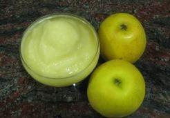 Sorbet minute aux pommes thermomix - Marie E. 500g de pommes congelées la veille coupées en dés (Granny Smith) 80 g de sucre en morceaux 1 blanc d'oeuf 1 cs de calvados ( ou de manzana verde)