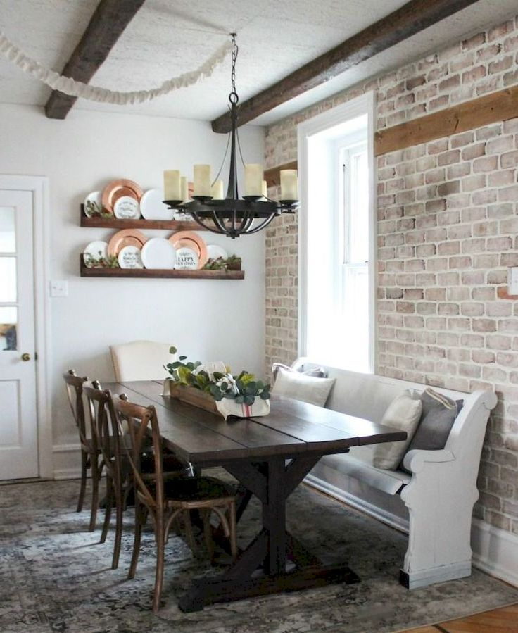 Lime Washed Farmhouse Tables And Benches Bespoke Sizes: Best 25+ Farmhouse Dining Rooms Ideas On Pinterest