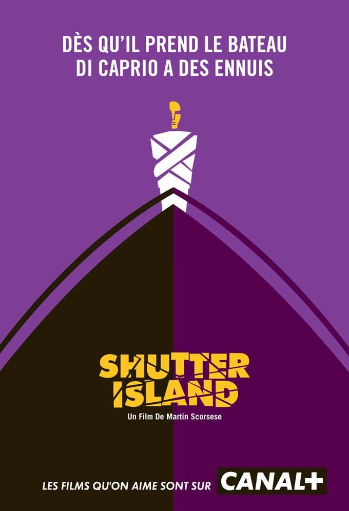 Canal Plus Ad - Shutter Island
