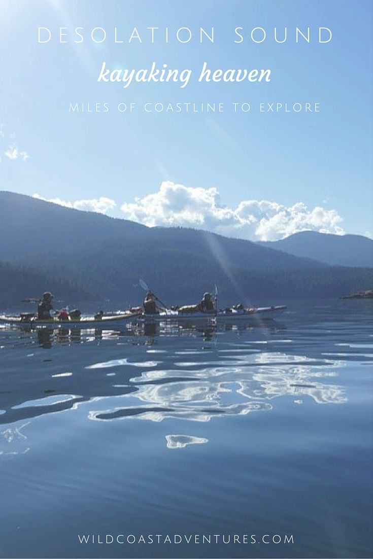 Picture yourself here. Kayaking heaven - magical British Columbia, Canada.