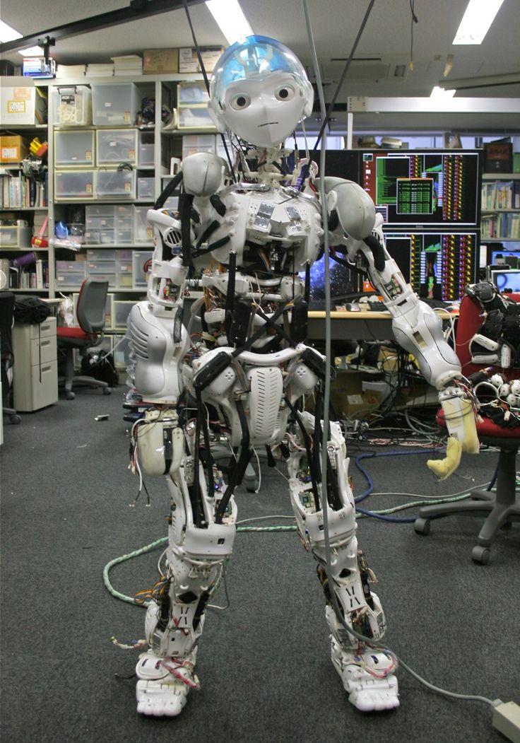 Kojiro Humanoid Robot Mimics Your Musculoskeletal System - IEEE Spectrum