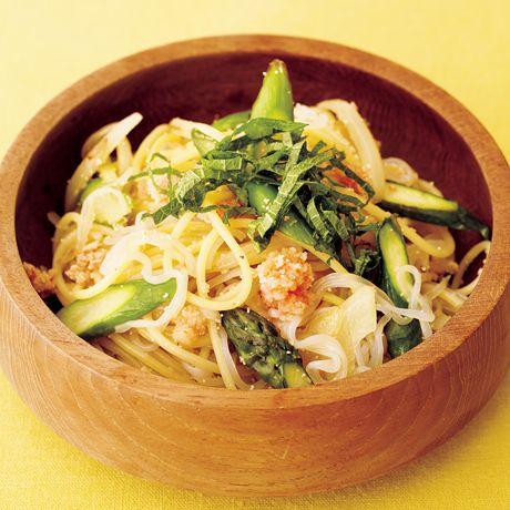 しらたき明太パスタ | 牛尾理恵さんのパスタの料理レシピ | プロの簡単料理レシピはレタスクラブネット