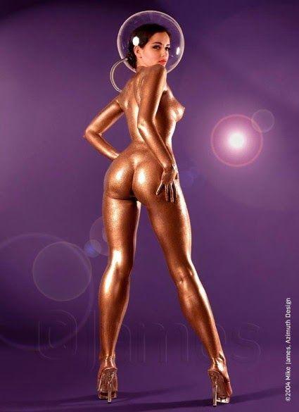 latex nude pin up girls