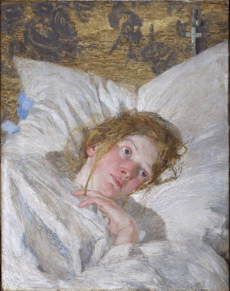 Petalo di rosa (Giovanni Segantini, 1889-1890, Collezione privata)