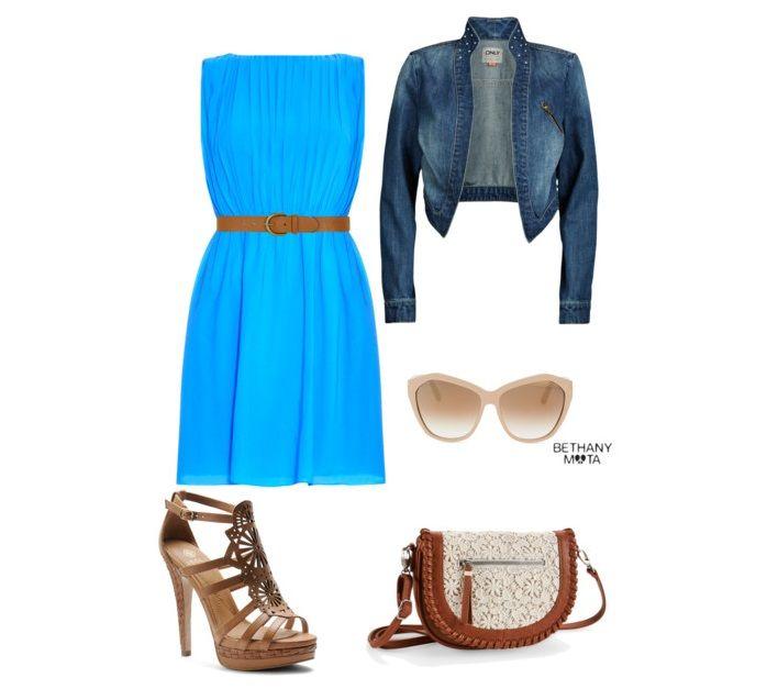 Trochę w stylu boho, trochę w stylu denim, zobacz kolejną stylizację z kategorii moda wiosna 2015.