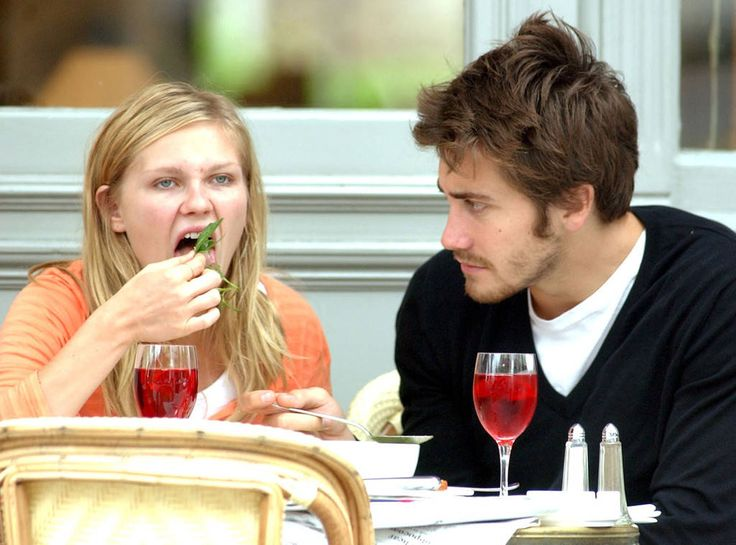 #TBT: Never forget the time Jake Gyllenhaal hated the way Kirsten Dunst ate salad