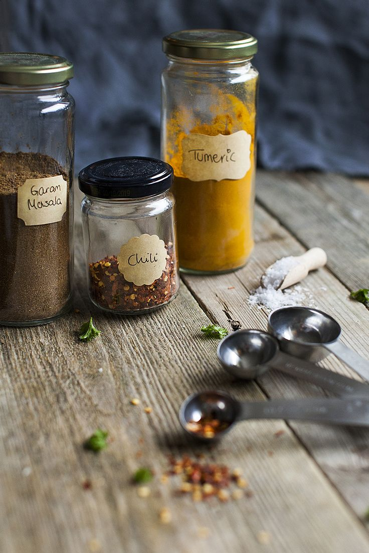 Spices and herbs for Dhal recipe. See more on http://honestmunchies.com/