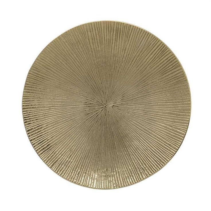 Aluminium Plate - Plates - DECORATIONS - inart