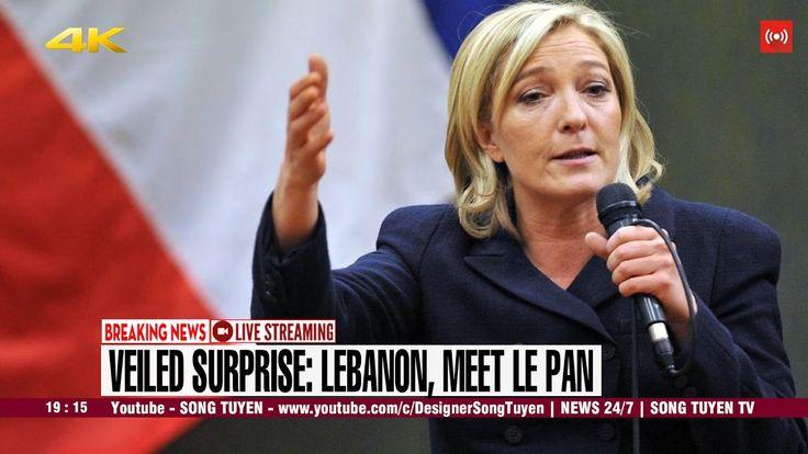 CNN BREAKING NEWS   Veiled surprise: Lebanon, meet Le Pen
