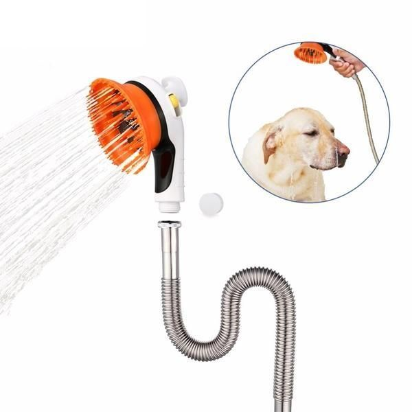 Multipurpose Pet Shower Head And Massage Device Cat Bath Pets