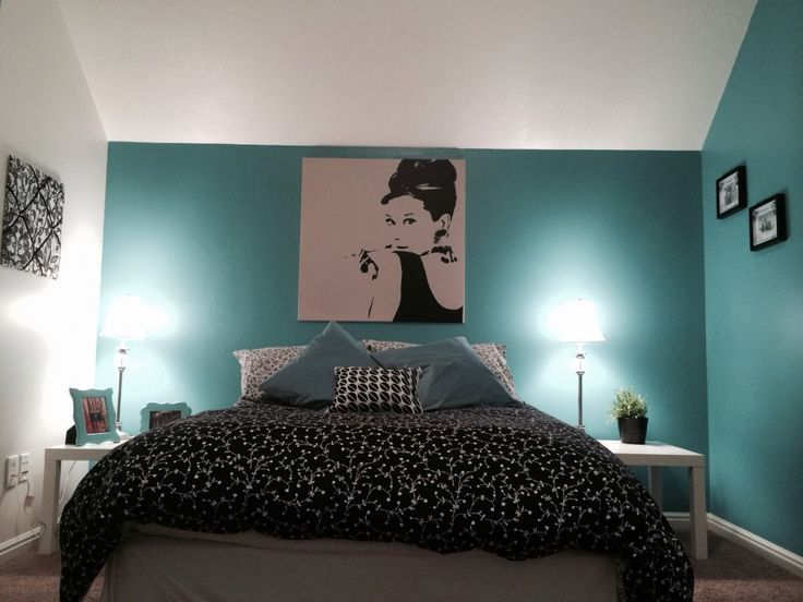 25 best ideas about teal brown bedrooms on pinterest for Black and green bedroom designs