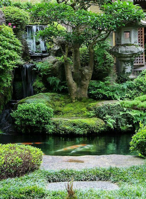 Les 61 meilleures images du tableau paysages zen sur - Tableau jardin japonais ...
