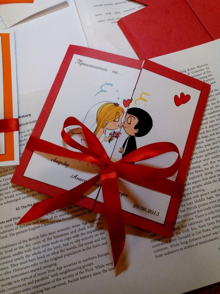 свадьба пригласительные приглашение wedding invitation