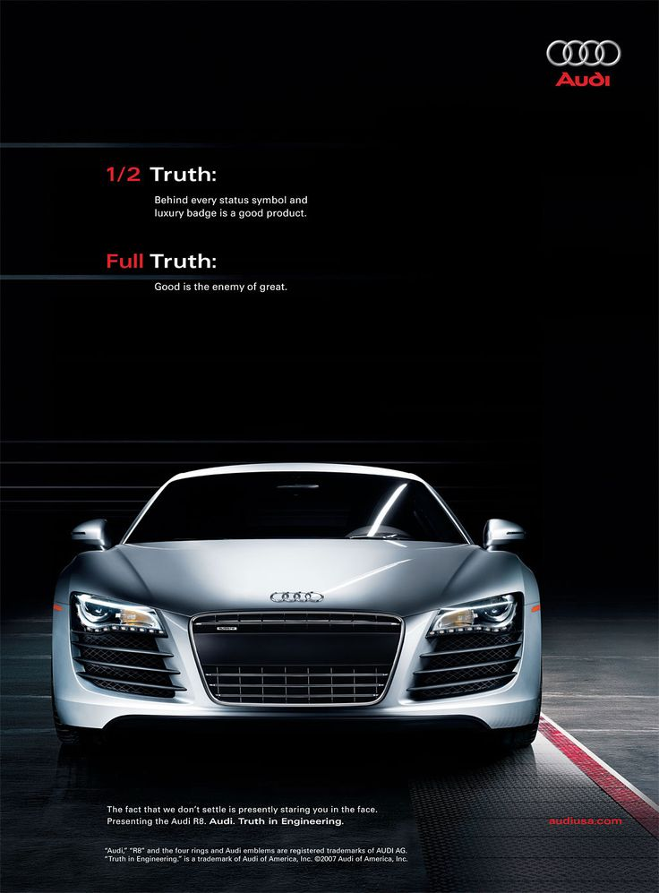 12 best Audi Ads images on Pinterest | Advertising ...