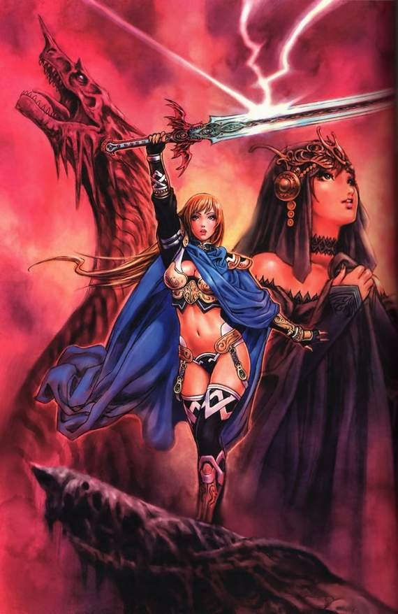 81 best images about anime warriors on pinterest - Anime female warrior ...