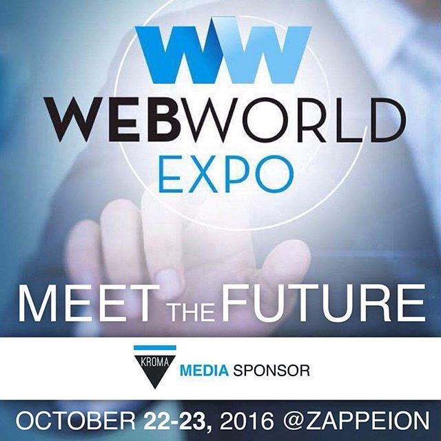 "This weekend in the #Zappeion Hall will be the most important technology event, exhibition and conference @web_world_expo  Media Sponsor: KROMA Magazine ""Digital Design"" Speakers: @yispan @design9 @dionisis_theodosis   #WebWorldExpo2016 #kromamagazine #pikatablet #artmagazine"