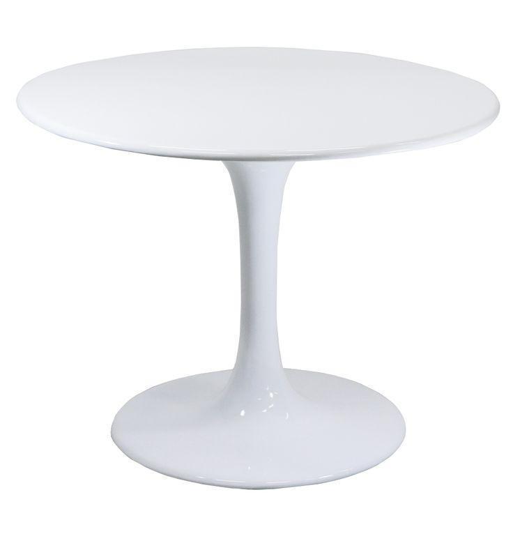 Replica Eero Saarinen Tulip Dining Table - 100cm by Eero Saarinen - Matt Blatt