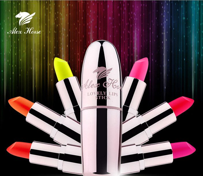 Hot Glow in the dark Neon Lipstick