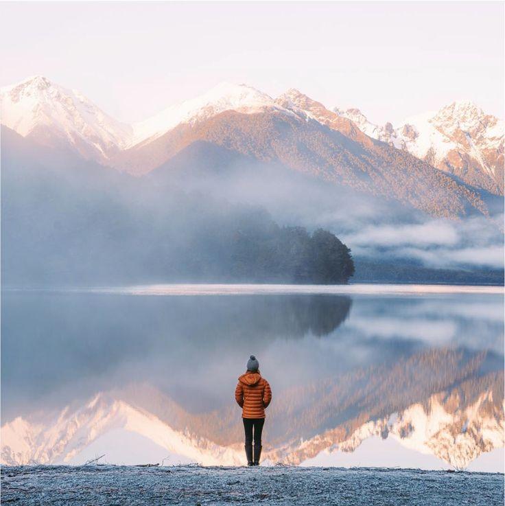 Hiking in New Zealand #outdoor