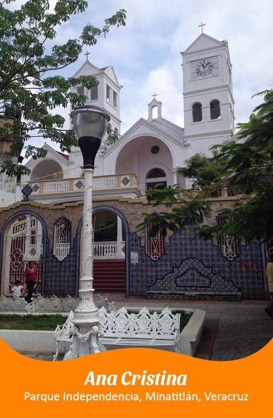 Parque Independencia en Minatitlán, Veracruz por Ana Cristina.