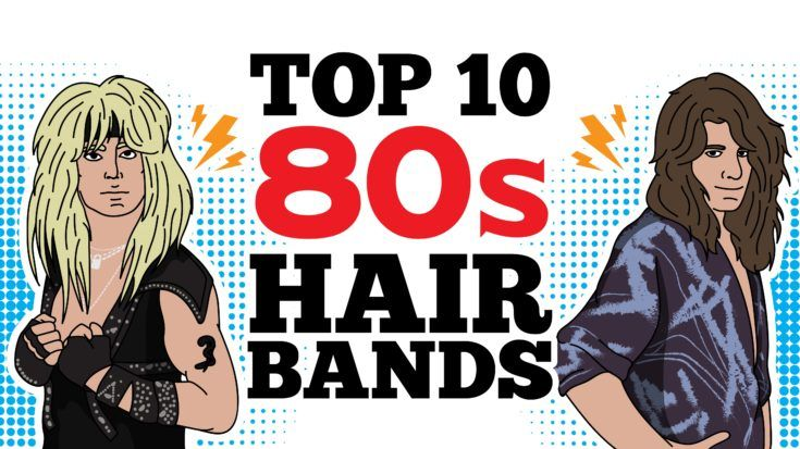 Top 10 80s Hair Bands To Remind You How Unforgettable That Era Was | I Love Classic Rock Videos