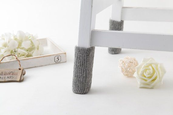 Pure Grey Chair socks by SeedCare on Etsy