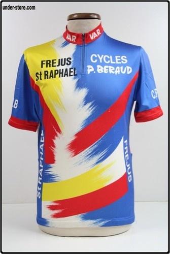 MAILLOT CYCLISME C.P.B FREJUS ST RAPHAEL CYCLE rfFBB402