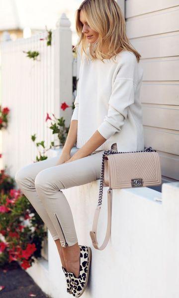 Look Monocromático: Branco