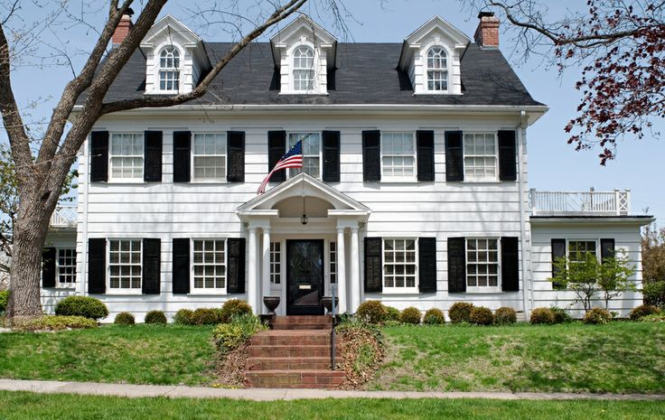 Definition Of Colonial Style House
