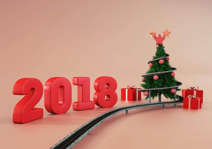 Full 3D Happy New Year 2018 Wishes Picture Hd