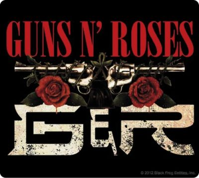 Sticker GUNS N ROSES - Chinese Democracy