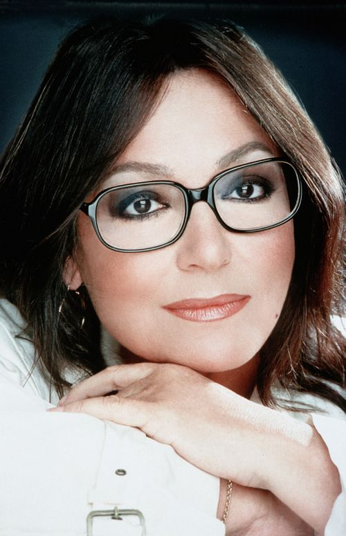 Nana Mouskouri...Toronto..1980's; entertaining singer with the mellow voice. Proud recipient of Quebec citizenship.