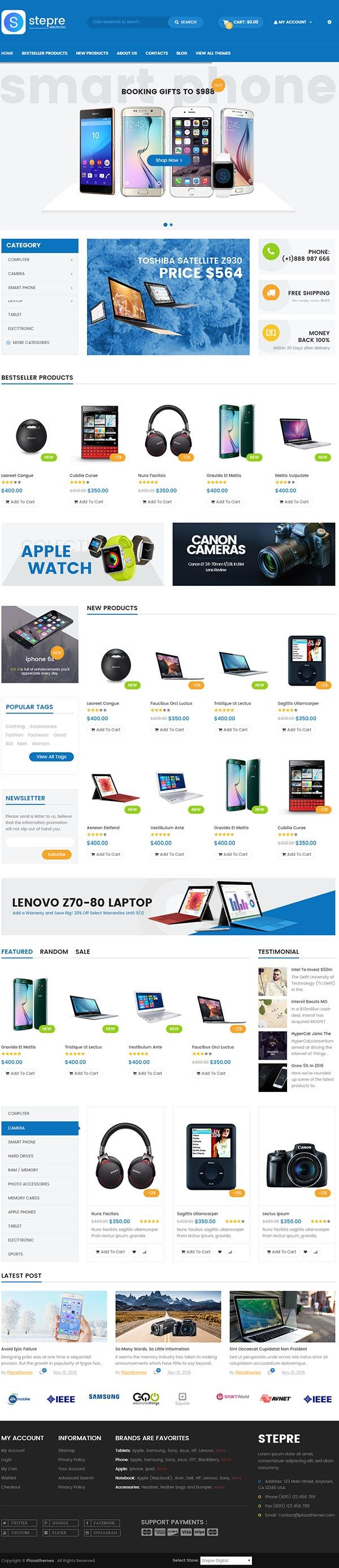 72 best Responsive Magento Themes images on Pinterest | Ui design ...