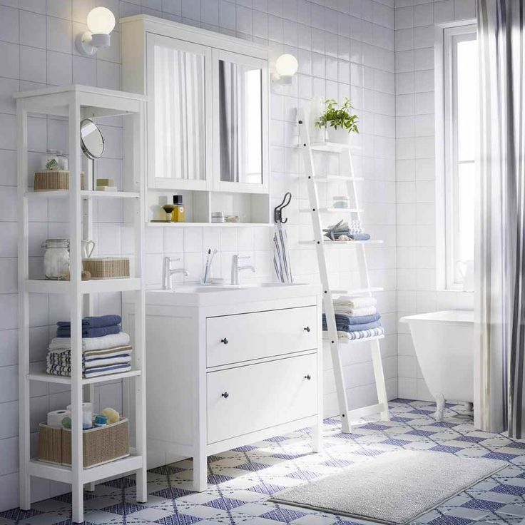 Stunning Ikea Take Vacation In White And Blue Charm Ikea Refresh Your Bathroom Scandinavian Style