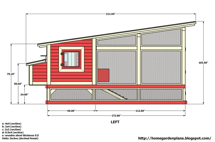 chicken coops plans | ... Chicken Coop Plans - How to build a chicken coop - Free Chicken Coop