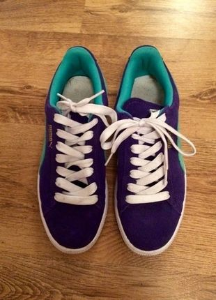 Puma Suede Sneaker bei #Kleiderkreisel http://www.kleiderkreisel.de/damenschuhe/turnschuhe/110301492-puma-suede-sneaker-gr-40-turkisblau #puma #suede #pumasuede